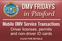 DMV Friday in Pittsford