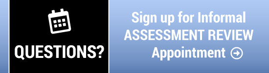 Assessment Review Appointment link