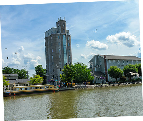 Canal and Grain Tower