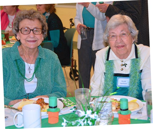 St. Patty's Day at Senior Center