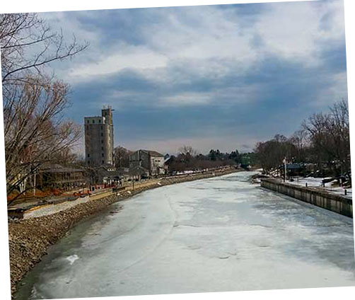 Winter at Port of Pittsford