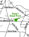 King's Bend Park Map