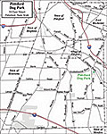 Pittsford Town Dog Park Map