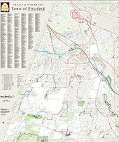 Town Trails and Walkways Full Map