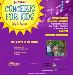 Summer Concerts for Kids